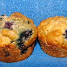 Oatmeal-Blueberry Muffins