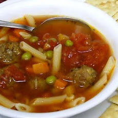 Italian Meatball Soup - Quick