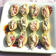 Seafood Salad Stuffed Shells