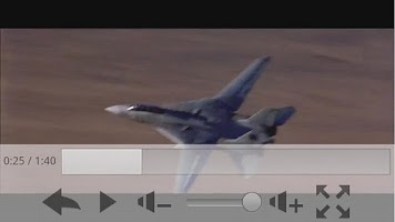 Screenshot of FLV Video Player