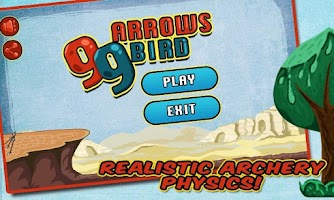 Screenshot of 99 Arrows: Bird