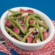 Red Potatoes with Beans Recipe