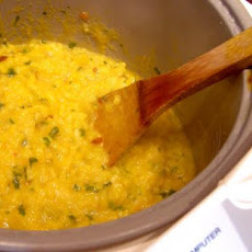 Orange Chipotle Risotto in Rice Cooker or Stove Top