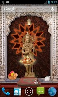 Screenshot of Lord Shiva 3D Temple LWP