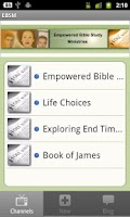 Screenshot of Empowered Bible Study
