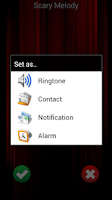 Screenshot of Scary Ringtones Free