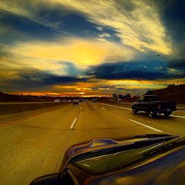 Driving with colors by Joe Thola - Instagram & Mobile Other ( #spokanewa #spokanegram #washingtonstate #goprohero3blackedition #gopro3 #goproblack3 )