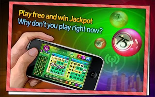 Screenshot of Bingo City Live 75+FREE slots