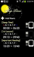 Screenshot of Sleep Time Lite
