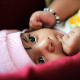 Baby Ishnvi by Keerthesh GR - Babies & Children Toddlers ( baby face, baby girl, baby, baby photography, toddler, indian baby, karnataka )