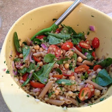 Wheat Berry Arugula Salad