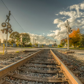 by Maurice FitzGerald - Transportation Railway Tracks ( hdr, soraxtm, tennessee, tullahoma, tracks )