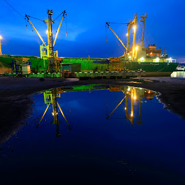 LEMBAR PORT, LOMBOK INDONESIA by Azwar Mahfudz - Transportation Other