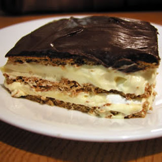 Chocolate Eclair Dessert With Pudding And Graham Crackers Recipes