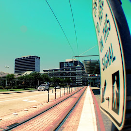 by Lori Broussard - Instagram & Mobile Instagram ( metro, metrorail, metrostation, medicalcenter, sign, crosswalk, canon, canont3i, canonrebel, capture, myphotography, lperiodbperiod, lb, colorskeepmehappy )