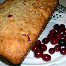 Apple Cranberry Nut Loaf