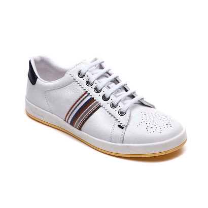 Paul Smith Cutout Lace Trainer TRAINER