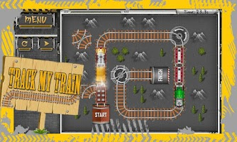 Screenshot of Track My Pocket Train