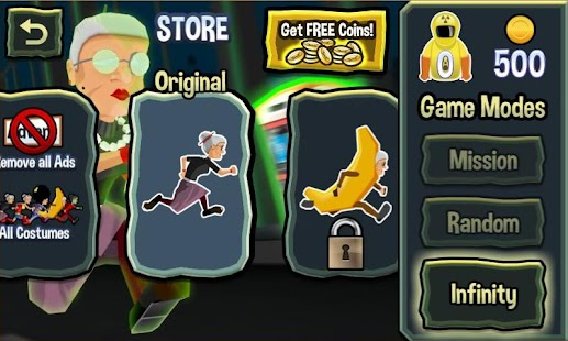 Free Angry Gran RadioActive Run APK for Windows 8