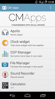 Screenshot of CM Apps - CyanogenMod apps