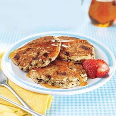 Multigrain Chocolate Chip Pancakes