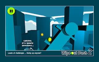 Screenshot of Wipeout Dash 2