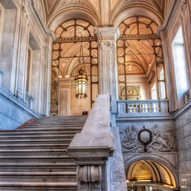Villa Reale by Andrea Conti - Buildings & Architecture Other Interior ( milan, interior, stairs, monza, italia, royal villa, upstairs, architecture, villa reale, italy )
