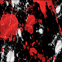 Red Splatter Keyboard Skin