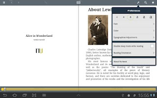 Screenshot of Nu-book