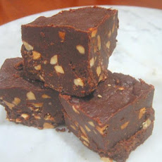 Low-Carb Chocolate Peanut Butter Fudge (Xylitol)