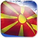 3D Macedonia Flag icon