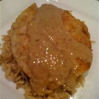 Parmesan Tilapia with a White Wine Sauce