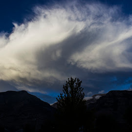 Clouds Over Utah by Rendan Lovell - Landscapes Cloud Formations ( g, mountain, utah, cloud, formation )