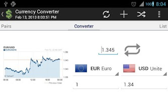 Screenshot of Currency Exchange - Converter