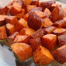 Cinnamon Sweet Potato Slices