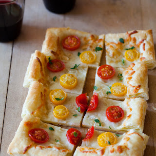 Cherry Tomato and Fresh Thyme Tart