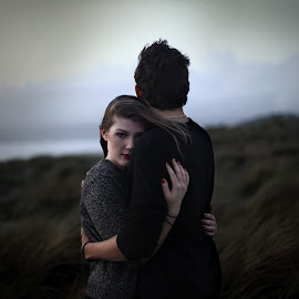 Hug me one last time by Elo Durand - People Couples ( love, girl, teenager, boy, photography,  )