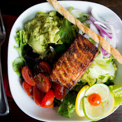 Grilled Salmon Salad from The Tomato Bistro