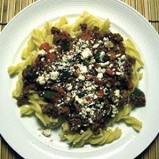 Easy Mince and Macaroni Supper