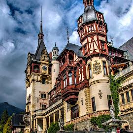 Peles Castle by Mihai Popa - Buildings & Architecture Public & Historical ( hdr, romania, valea prahovei, bucegi )
