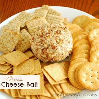 Game Day Bacon Cheese Ball