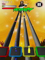 Screenshot of Rock Music Hero