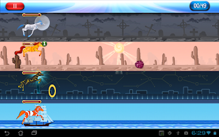 Screenshot of Rainbow Derby