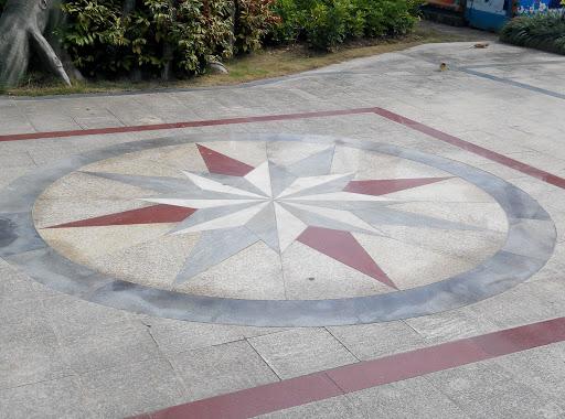 Crystal Star Circle Art
