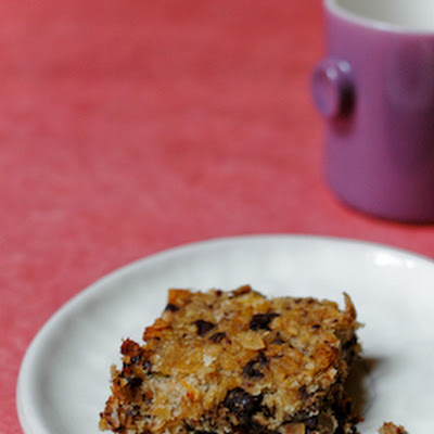 Wholesome Banana Chocolate Breakfast Bars