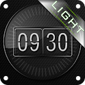 Glass Uhr. Widget. LIGHT. icon