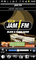 Screenshot of JAM FM