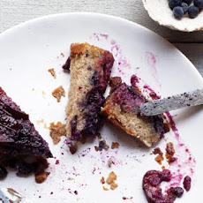 Plum-Blueberry Upside-Down Cake Recipe