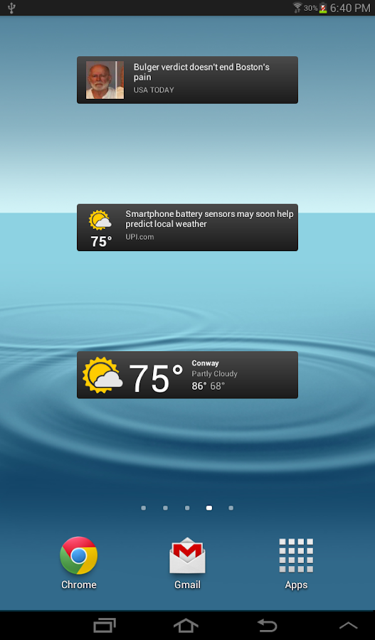 News & Weather Screenshot 7