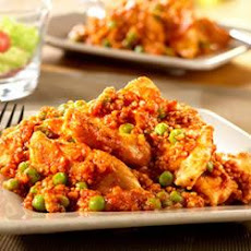 Chicken with Peas and Quinoa